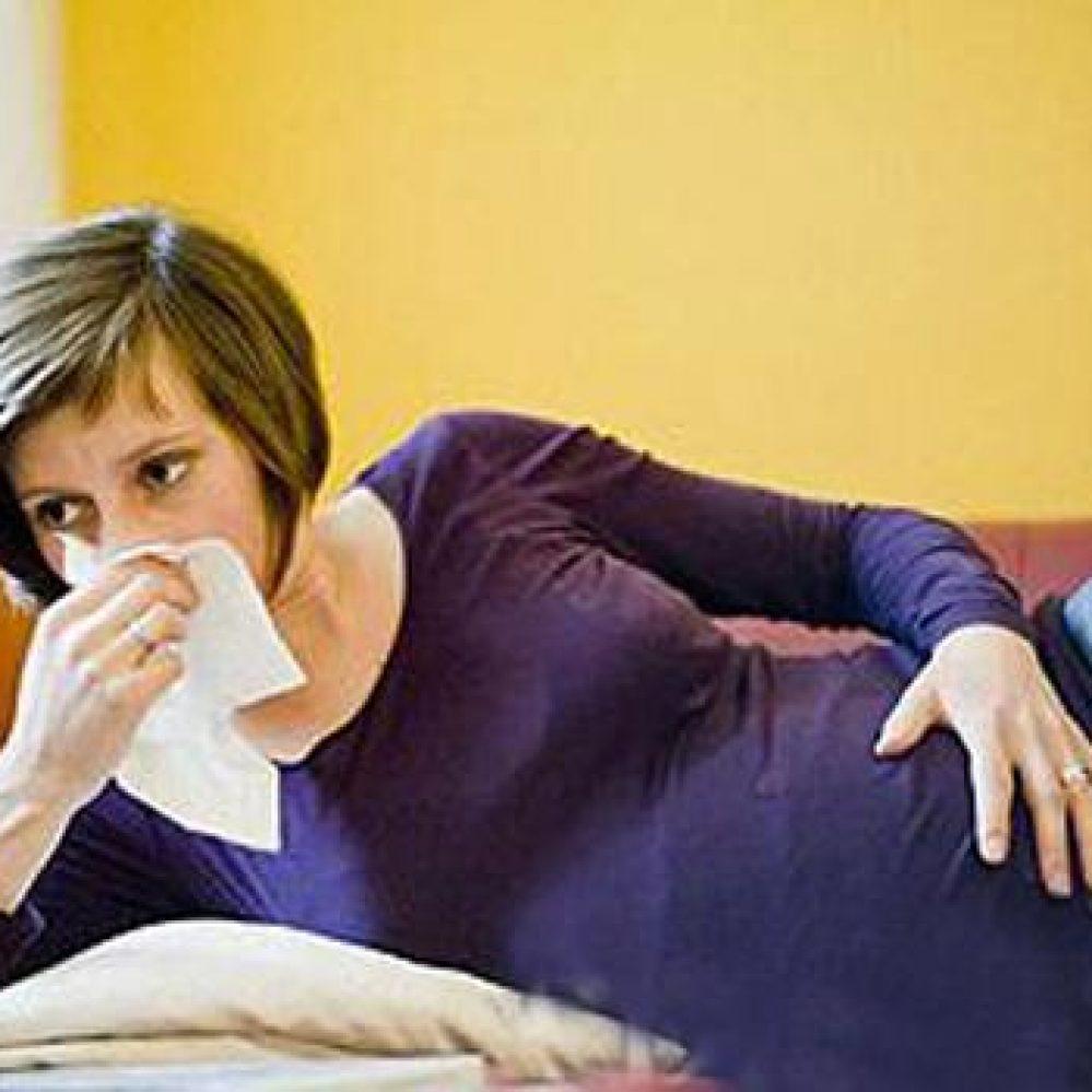 Κρύωμα στην Εγκυμοσύνη
